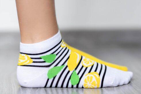 Barefoot Socks - Low-Cut - Lemons - 2