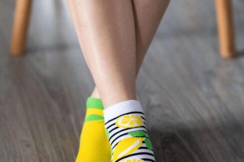 Barefoot Socks - Low-Cut - Lemons - 1
