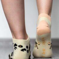Barefoot Socks - Low-Cut - Leopard - 2