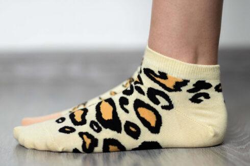 Barefoot Socks - Low-Cut - Leopard - 4