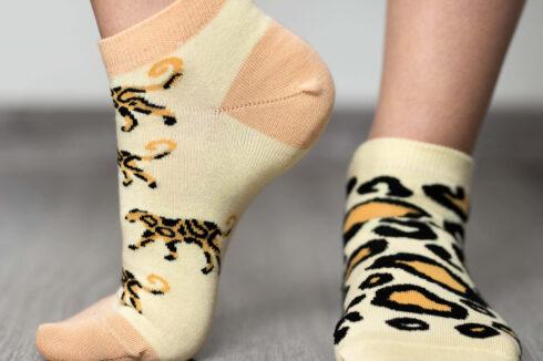 Barefoot Socks - Low-Cut - Leopard - 5