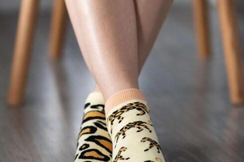 Barefoot Socks - Low-Cut - Leopard - 1