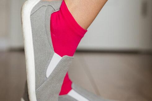 Barefoot Socks - Low-Cut - Pink - 4