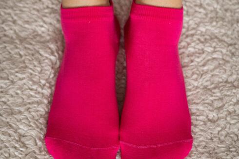 Barefoot Socks - Low-Cut - Pink - 1