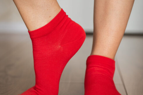Barefoot Socks - Low-Cut - Red - 3