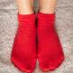 Barefoot Socks - Low-Cut - Red - 1