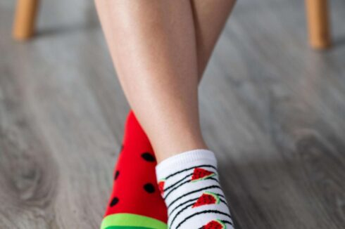 Barefoot Socks - Low-Cut - Watermelon - 1