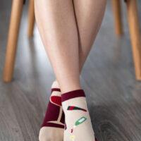Barefoot Socks - Low-Cut - Wine - 1