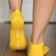 Barefoot Socks - Low-Cut - Yellow - 4