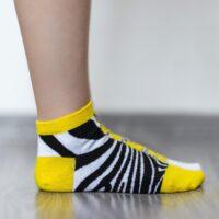 Barefoot Socks - Low-Cut - Zebra - 2