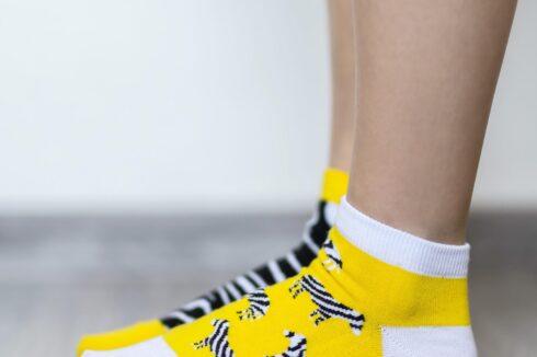 Barefoot Socks - Low-Cut - Zebra - 3