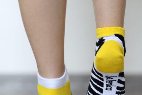 Barefoot Socks - Low-Cut - Zebra - 4