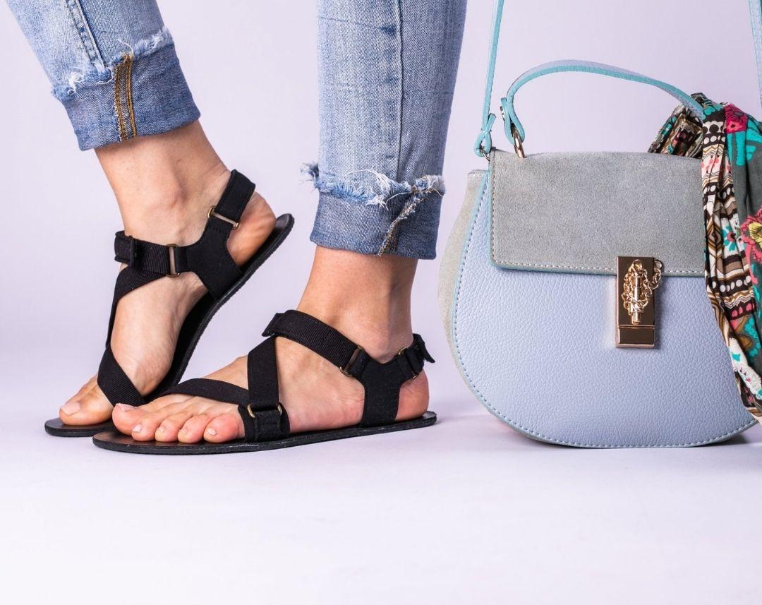 Barefoot Sandals - Be Lenka Flexi - Black - 1