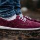 Barefoot Shoes - Be Lenka City - Plum & White - 5