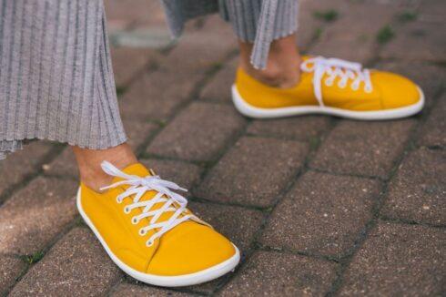 Barefoot Sneakers - Be Lenka Prime - Mustard - 1