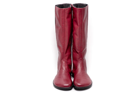 Barefoot long boots – Be Lenka Sierra - Ruby - 4