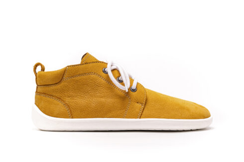 Barefoot Shoes - Be Lenka All-year - Icon - Mustard & White - 1