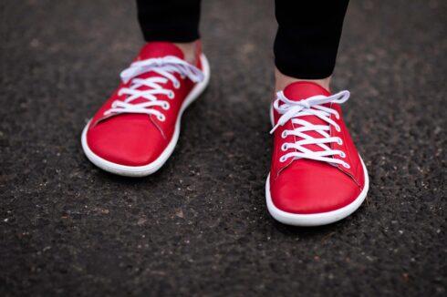 Barefoot Sneakers - Be Lenka Prime - Red - 6
