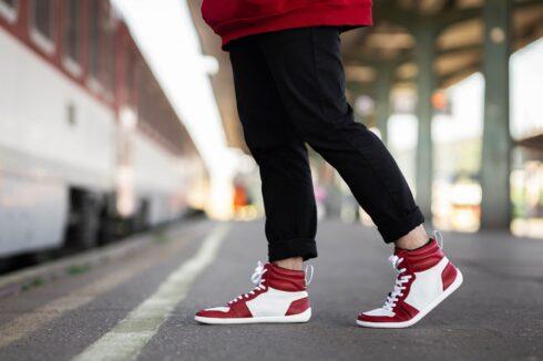 Barefoot Sneakers Be Lenka Stellar - Red - 5