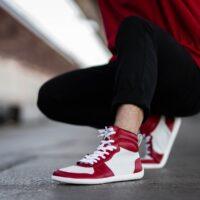 Barefoot Sneakers Be Lenka Stellar - Red - 2