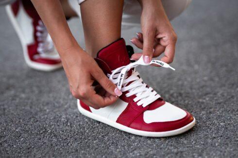 Barefoot Sneakers Be Lenka Stellar - Red - 3