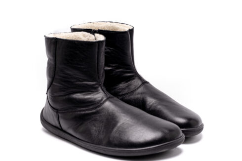 Barefoot shoes – Be Lenka Polar - Black - 4