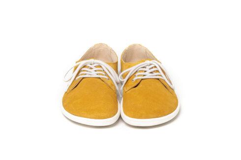 Barefoot Shoes - Be Lenka City - Mustard & White - 6