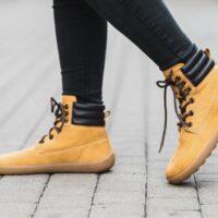 Barefoot Boots Be Lenka Nevada - Mustard - 3