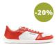 Barefoot Sneakers - Be Lenka Champ - Patriot - Red & White - 1