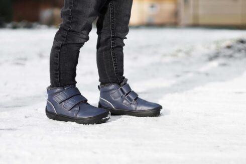 Be Lenka Kids Winter barefoot - Penguin - Charcoal - 2