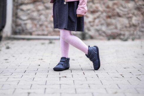 Be Lenka Kids Winter barefoot - Penguin - Charcoal - 4