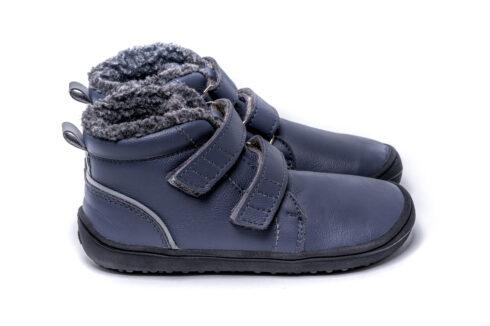 Be Lenka Kids Winter barefoot - Penguin - Charcoal - 6