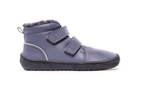 Be Lenka Kids Winter barefoot - Penguin - Charcoal - 1