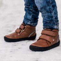 Be Lenka Kids Winter barefoot - Penguin - Chocolate - 2