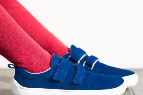 Be Lenka Kids barefoot shoes Jolly - Navy - 6