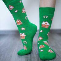 Be Lenka Winter barefoot socks - Crew - Gingerbread - 2