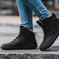 Winter Barefoot Boots Be Lenka Ranger - All Black - 2