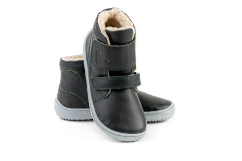Be Lenka Kids Winter barefoot Be Lenka Panda - Charcoal Black - 2