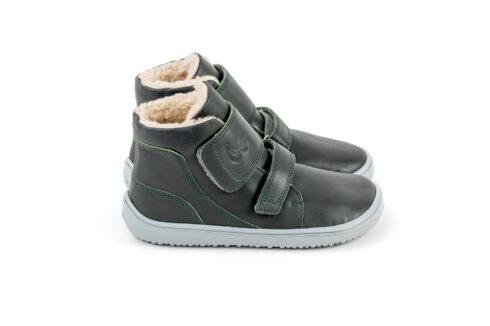 Be Lenka Kids Winter barefoot Be Lenka Panda - Charcoal Black - 4