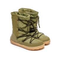 Winter Barefoot Boots Be Lenka Snowfox Woman - Army Green - 4