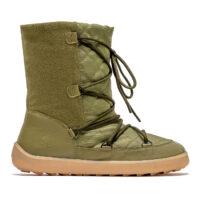 Winter Barefoot Boots Be Lenka Snowfox Woman - Army Green - 1