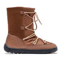 Winter Barefoot Boots Be Lenka Snowfox Woman - Dark Brown - 1